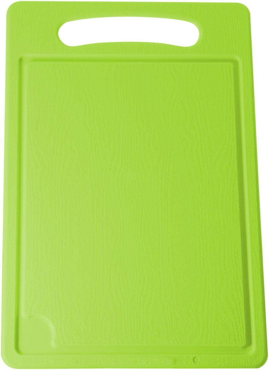 Доска разделочная Plastic Centre, цвет: светло-зеленый, 36 х 24 смПЦ1494ЛМРазделочная доска может применяться для различных видов продуктов. Каждая доска снабжена желобком для стока жидкости для удобства применения. Доска не впитывает запахи, устойчива к воздействию ножом, благодаря чему изделие более долговечно. На кухне рекомендовано иметь несколько досок для различных видов продуктов: мяса, рыбы, хлеба и овощей.