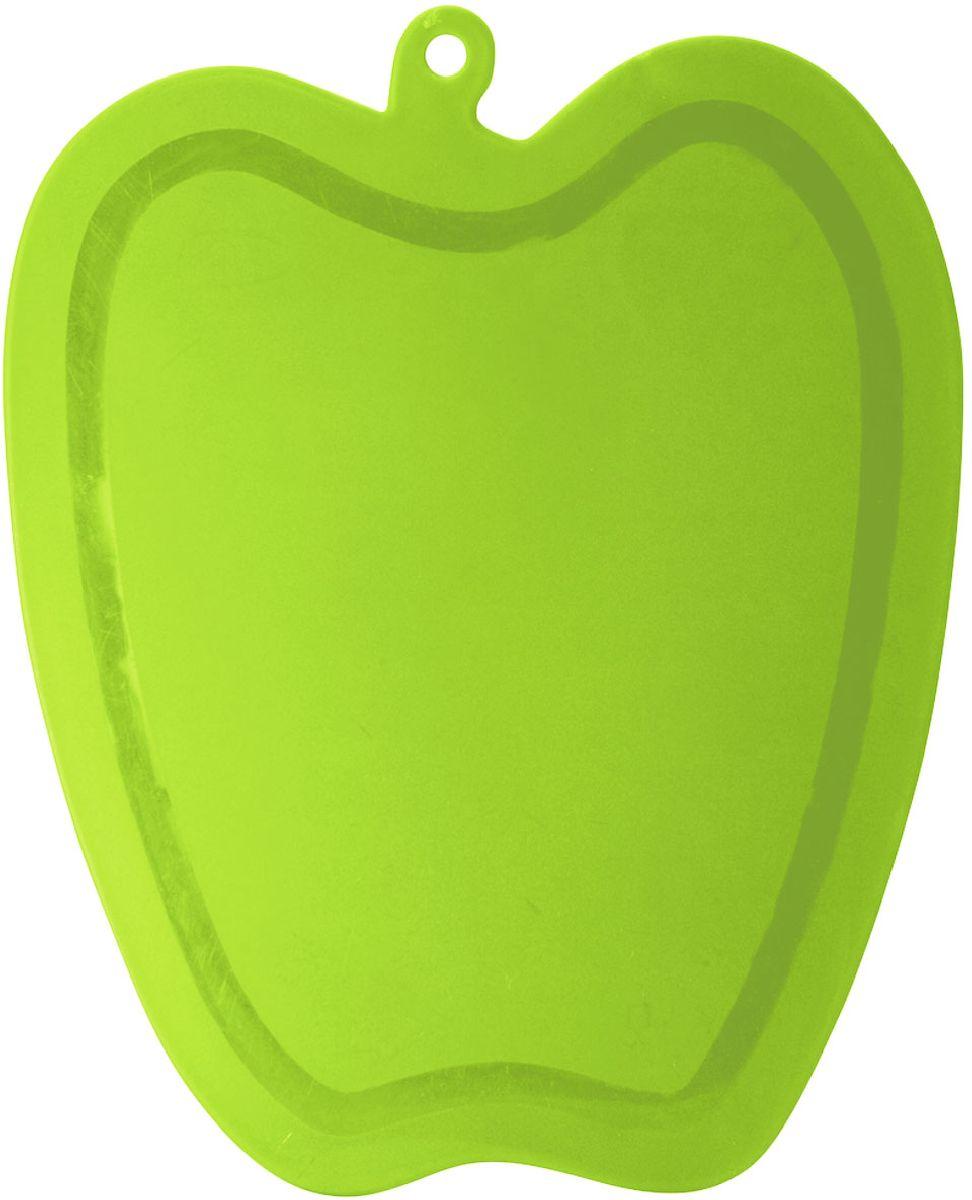 Доска разделочная Plastic Centre Slim, цвет: светло-зеленый, 22,5 х 18,3 смПЦ1496ЛМТонкая, легкая, прочная доска. Нескользящая поверхность. Нет аналогов на российском рынке.