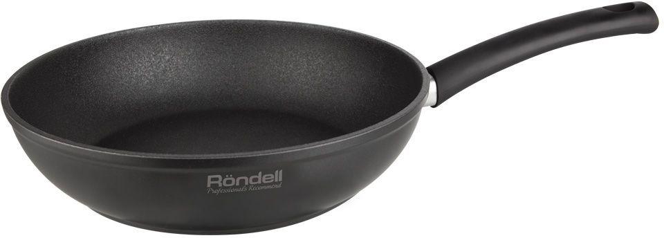 Сковорода Rondell Mustang, 24 смRDA-597Сковорода глубокая 24х6см Mustang Rondell