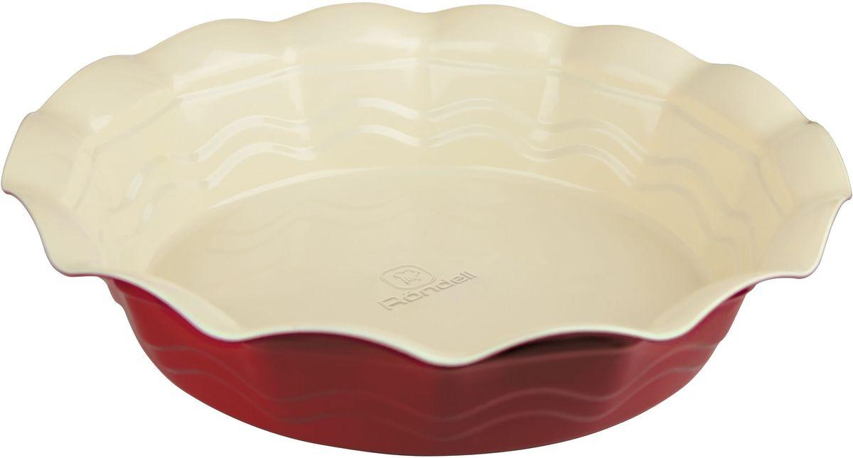 Форма для запекания Rondell Wavy, круглая, 27 смRDF-435Форма для запекания RONDELL круглая 27 см Wavy