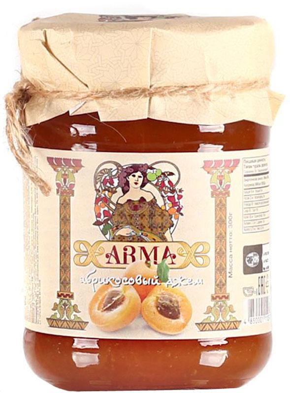 ARMA Джем абрикосовый, 300 г10.52.06Благодаря высокому содержанию витаминов и минеральных веществ, абрикос по праву называется источником здоровья. А его неповторимый вкус и аромат подчеркнут в этом в абрикосовом джеме. Этот джем отлично сочетается с хрустящим тостом, французской булочкой или блинами. Неотъемлемая часть полезного и вкусного завтрака! Цельные плоды абрикосов в нежном прозрачном сиропе. Этот джем для любителей посидеть за чашкой чая в кругу близких и друзей. Непревзойденный вкус станет поводом для ярких воспоминаний из детства, проведенного у бабушки.