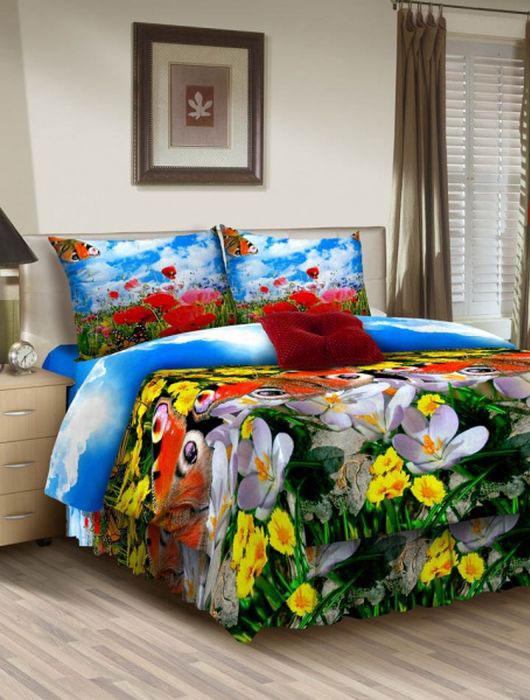 Комплект белья ROKO, евро, наволочки 70х70, цвет: голубой, зеленый, красный115905Комплект белья ROKO состоит из простыни, пододеяльника и 2 наволочек. Для производства постельного белья используются экологичные ткани высочайшего качества. Бязь - хлопчатобумажная плотная ткань полотняного переплетения. Отличается прочностью и стойкостью к многочисленным стиркам. Бязь считается одной из наиболее подходящих тканей, для производства постельного белья и пользуется в России большим спросом.