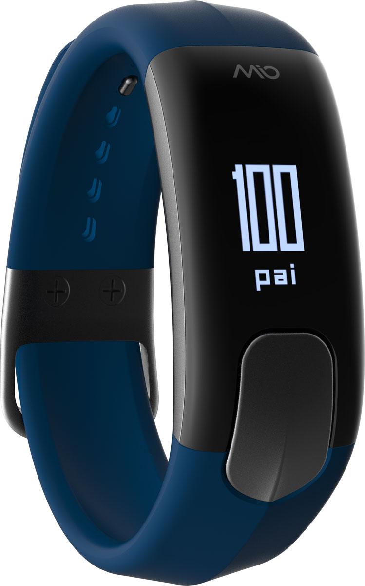 Фитнес-трекер Mio Slice Large, цвет: синий. 60P-NAV-LRG60P-NAV-LRGMio SLICE - это первое носимое устройство, которое записывает ваш пульс в течение всего дня и преобразует собранные данные в очки PAI (Personal Activity Intelligence). PAI - это революционный персонализированный индекс активности, учитывающий реакцию организма на физические нагрузки. Помимо пульса, SLICE также позволяет отслеживать качество сна, расход калорий, дистанцию и другие показатели. И все это в одном стильном, влагозащищенном устройстве с простым и понятным управлением. Учет и отображение на дисплее очков PAI Круглосуточный контроль пульса (оптический датчик Mio) Подсчет ежедневной активности (шаги, калории, дистанция) Анализ качества сна по пульсу и минимального ЧСС за ночь Уведомления о входящих звонках и текстовых сообщениях со смартфона Влагозащищенность: выдерживает погружение на глубину до 30 метров. Аккумулятор: одного заряда хватает на 5 дней активного использования Встроенная память: может сохранять до 7 дней полных данных об...