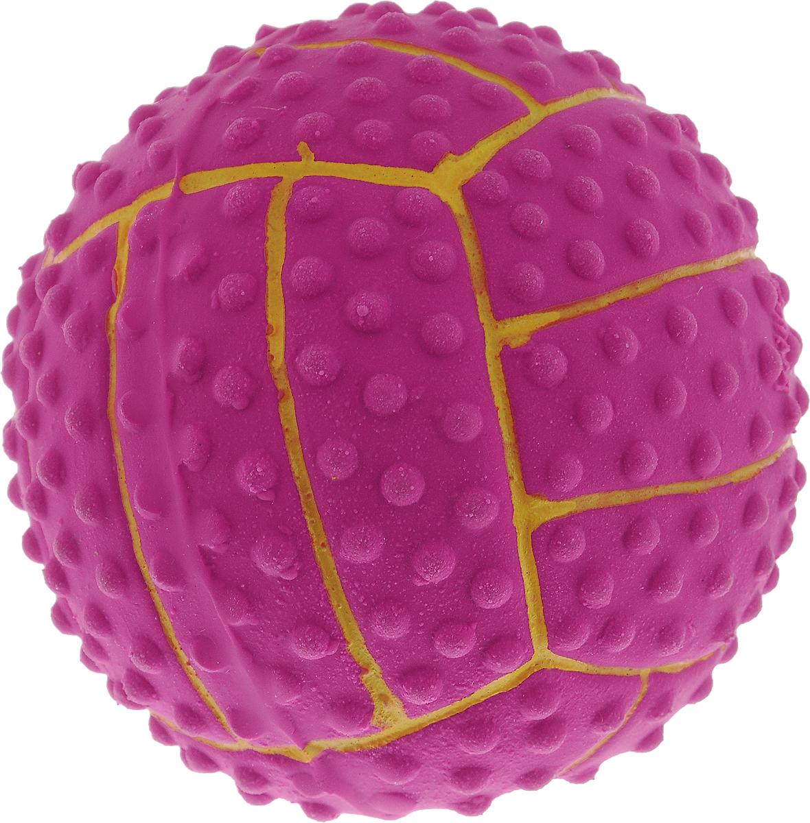 """Игрушка для собак Dezzie """"Мяч. Волейбол"""", с пищалкой, диаметр 7,5 см 5620042"""