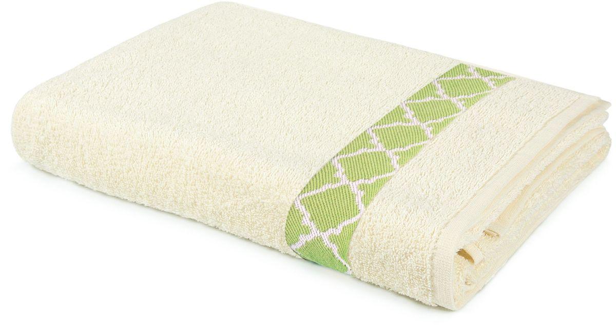 Полотенце махровое Aquarelle Таллин-1, цвет: ваниль, 70 х 140 см531-401Махровое полотенце Aquarelle Таллин-1 неотъемлемая часть повседневного быта, они создают дополнительные акценты в ванной комнате. Продукция производится из высококачественных материалов.Ткань: 100% хлопок.Размер: 70 х 140 см.