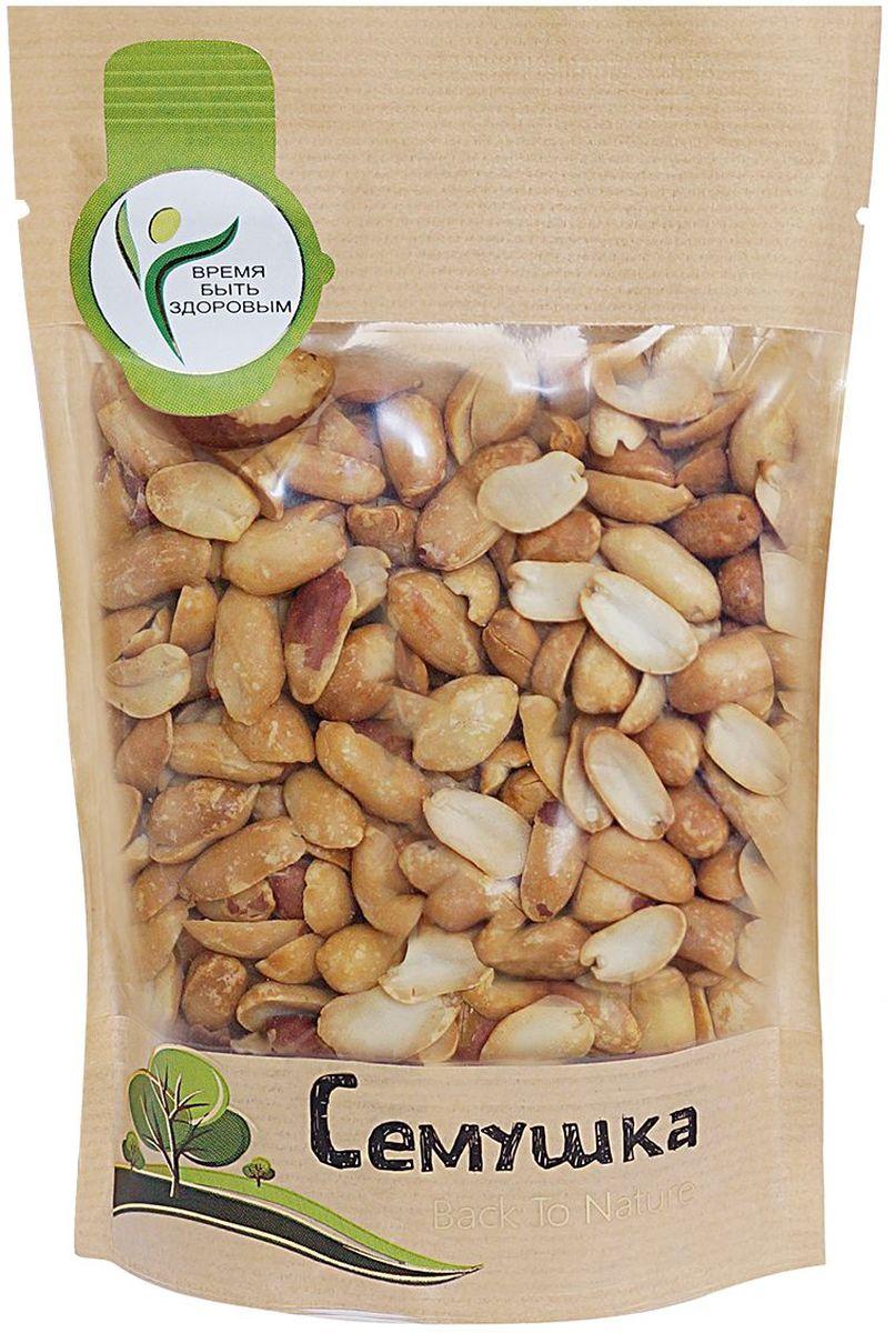 Семушка арахис жареный соленый, 150 г4607114690927Арахис по питательной ценности превосходит все орехи. Является полноценным заменителем животных белков, так как по содержанию и составу белков превосходит даже мясо. Снижает риск сердечно-сосудистых заболеваний и активизирует иммунную систему.