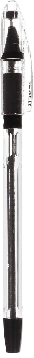 Cello Ручка шариковая Gripper цвет чернил черный72523WDШариковую ручку Cello Gripper отличают продуманная функциональность и удобство при письме.Прозрачный трехгранный корпус, выступы в его средней части, специальная подушечка для пальцев из антибактериального каучука - все это создает дополнительный комфорт.Стреловидный пишущий узел обеспечивает идеальную тонкую линию письма.