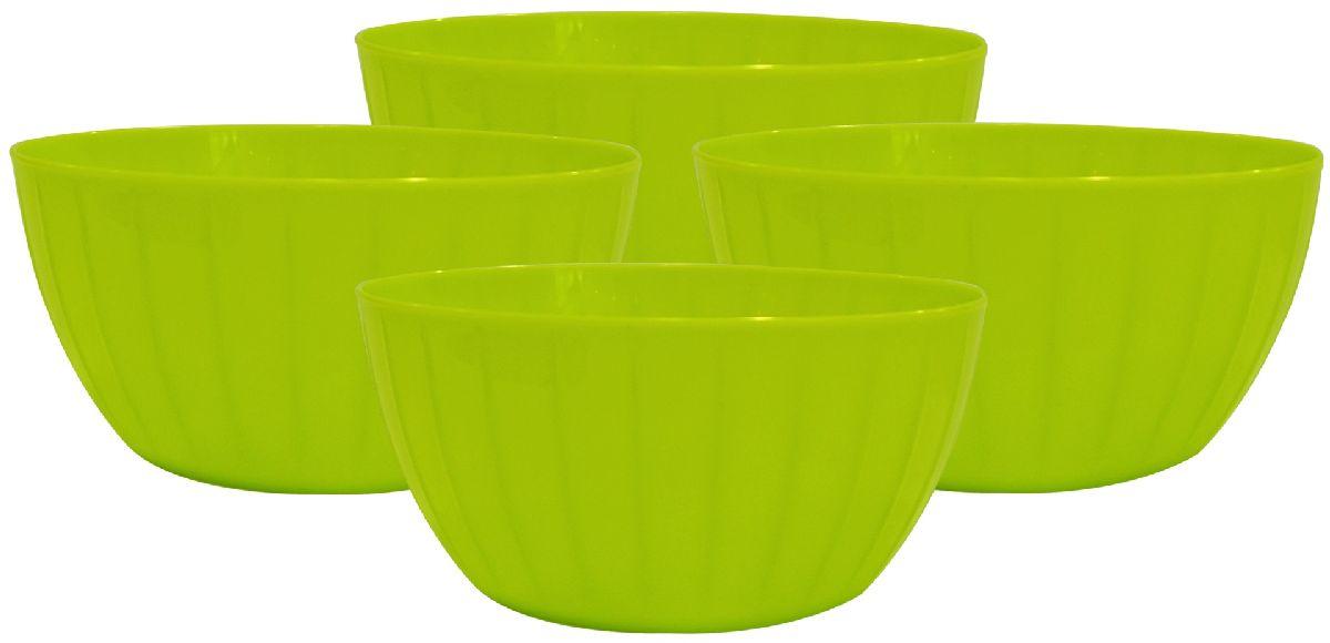 Набор салатников Giaretti Fiesta, цвет: оливковый, 0,6 л, 4 штGR1861ОЛСерия салатников Fiesta – новая итальянская новинка от Giaretti. Они выгодно подчеркнут Преимущества ваших блюд. Салатники объемом 0,6 л удобно помещаются друг в друга, что позволяет практично использовать пространство для хранения. Идеально подходят для подачи салатов порционно, индивидуально каждому гостю! Советуем комбинировать с салатниками Fiesta объемом 1,7 литра, 2,8 литра, а также 5 литров.