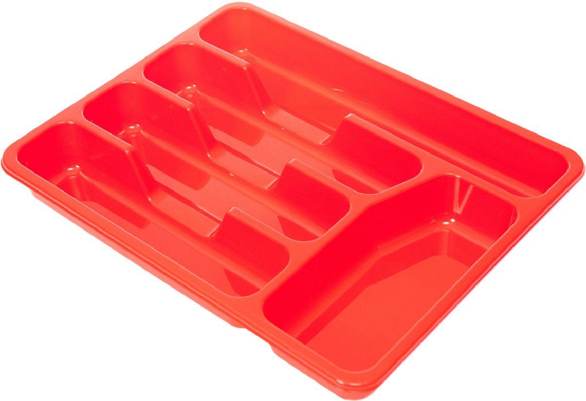 Лоток для столовых приборов Plastic Centre, цвет: красный, 33 х 26 х 4,3 смПЦ1560КРЛоток для столовых приборов поможет содержать ящик, где хранятся ложки и вилки, в полном порядке. Прочный пластик легко моется и прослужит долгое время.