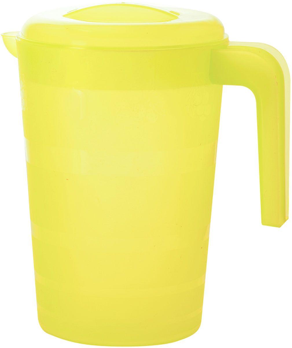 Кувшин Plastic Centre Фазенда, с крышкой, цвет: желтый, 2 лПЦ1825ЛМНКувшин Plastic Centre Фазенда, выполненный из прочного пластика, украсит ваш стол. Кувшин оснащен ручкой и носиком для удобного наливания. Кувшин имеет плотно закрывающуюся крышку. Изделие прекрасно подойдет для подачи воды, сока, компота и других напитков. Диаметр (по верхнему краю): 14,5 см. Высота (без учета крышки): 20,5 см.