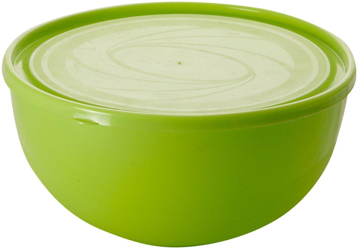 Салатник Plastic Centre Galaxy, с крышкой, цвет: светло-зеленый, 4 л115610Многофункциональный салатник Plastic Centre Galaxy с крышкой прекрасно подходит как для приготовления, так и для подачи различных блюд на стол. Лаконичный дизайн впишется в любую обстановку кухни. Крышка сохранит свежесть приготовленных блюд.Объем салатника: 4 л.Диаметр салатника: 26 см.Высота салатника: 13 см.