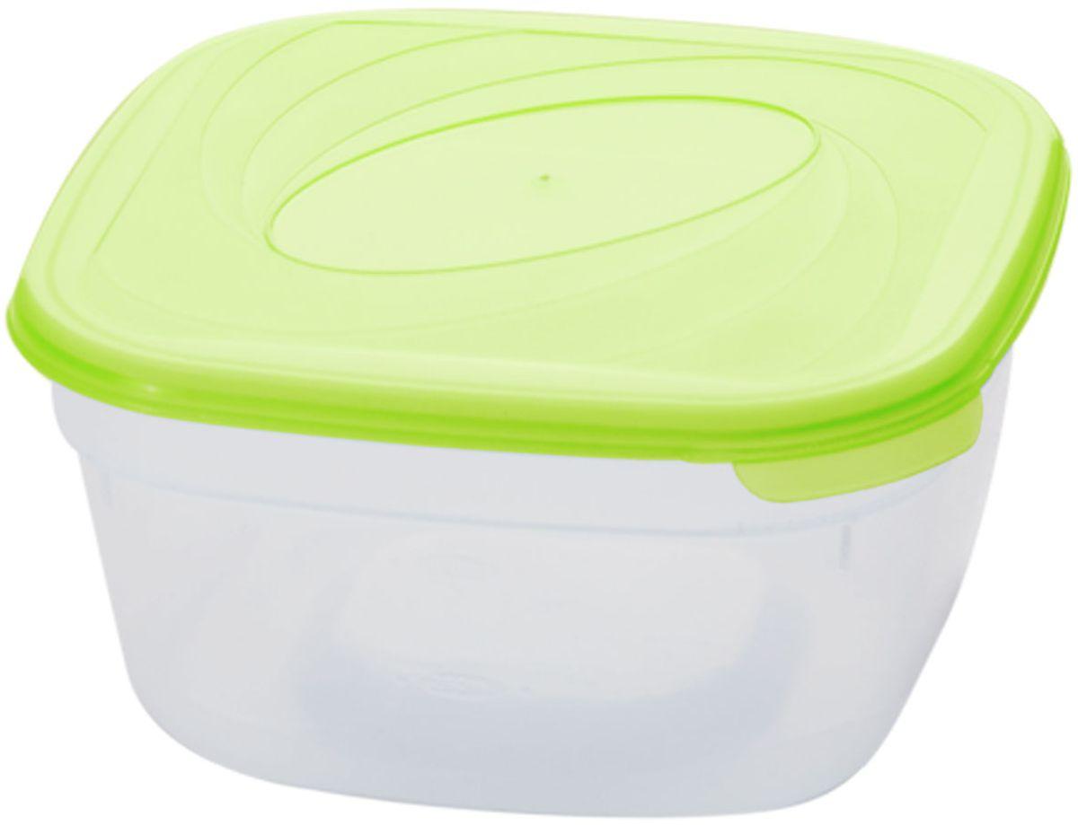 Емкость для СВЧ Plastic Centre Galaxy, цвет: светло-зеленый, прозрачный, 500 мл94672Многофункциональная емкость для хранения различных продуктов, разогрева пищи, замораживания ягод и овощей в морозильной камере и т.п. При хранении продуктов емкости можно ставить одну на другую, сохраняя полезную площадь холодильника или морозильной камеры.Размер контейнера: 12 х 12 х 5,5 см.Объем контейнера: 500 мл.