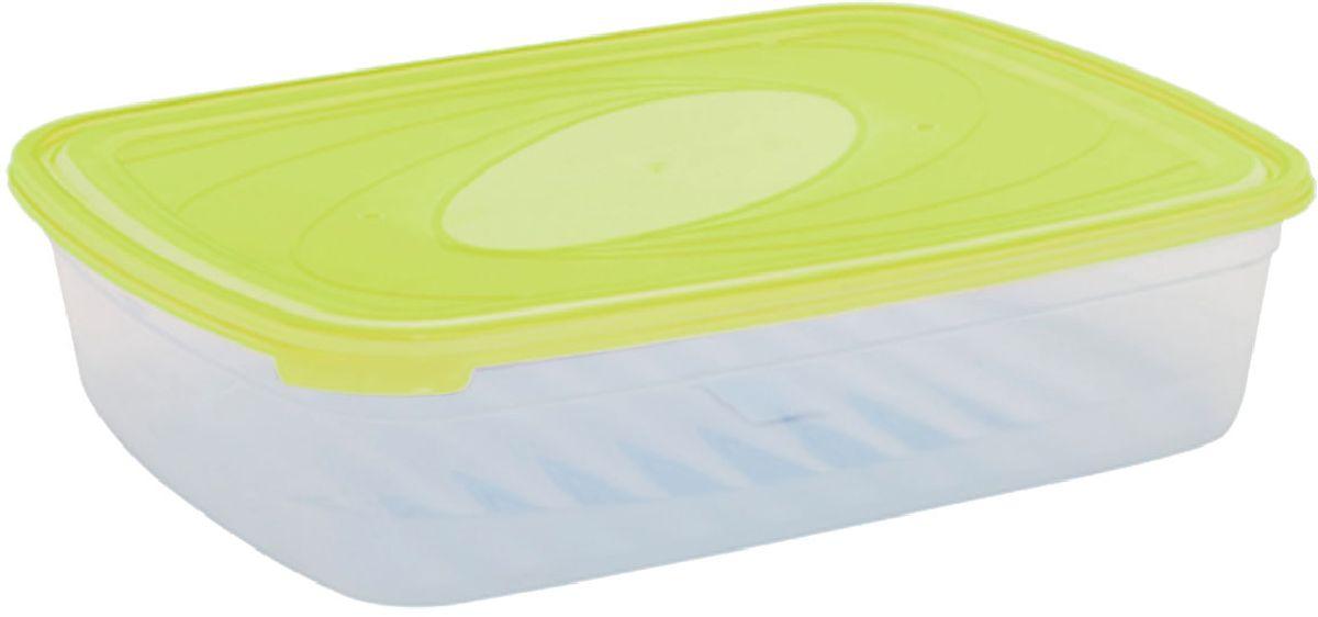 Емкость для СВЧ Plastic Centre Galaxy, цвет: светло-зеленый, прозрачный, 4,75 лПЦ2224ЛММногофункциональная емкость для хранения различных продуктов, разогрева пищи, замораживания ягод и овощей в морозильной камере и т.п. При хранении продуктов емкости можно ставить одну на другую, сохраняя полезную площадь холодильника или морозильной камеры. Широкий ассортимент цветов удовлетворит любой вкус и потребности.