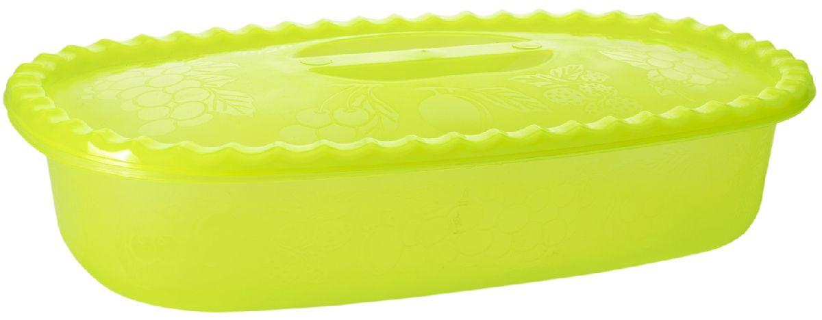 Судок Plastic Centre Фазенда, с крышкой, цвет: светло-зеленый, 2,7 лKYS-329AНаш многофункциональный судок с крышкой прекрасно подходит для подачи различных блюд. Классический дизайн судка украсит даже праздничный стол.