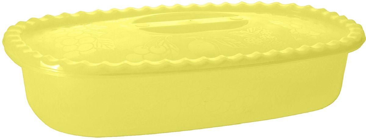 Судок Plastic Centre Фазенда, с крышкой, цвет: желтый, 1,5 лПЦ2325ЖТПРНаш многофункциональный судок с крышкой прекрасно подходит для подачи различных блюд. Классический дизайн судка украсит даже праздничный стол.
