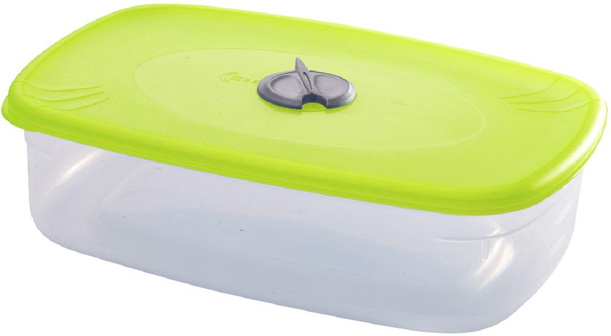 Емкость для СВЧ Plastic Centre, с паровыпускным клапаном, цвет: светло-зеленый, прозрачный, 1,2 лПЦ2328ЛММногофункциональная емкость для хранения различных продуктов, разогрева пищи, замораживания ягод и овощей в морозильной камере и т.п. При хранении продуктов емкости можно ставить одну на другую, сохраняя полезную площадь холодильника или морозильной камеры. Широкий ассортимент цветов удовлетворит любой вкус и потребности.