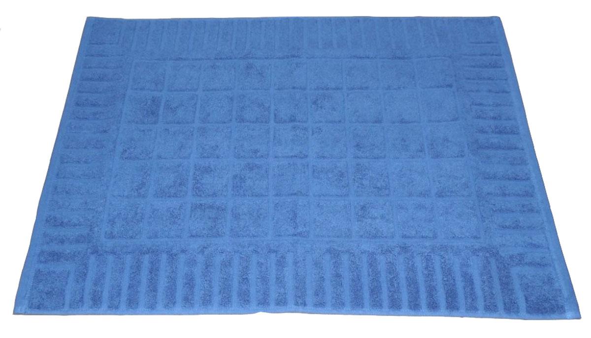 Коврик для ванной Toalla, цвет: синий, 50 x 70 см9231111Машинная стирка при 40 градусах. Перед использованием рекомендуется постирать.