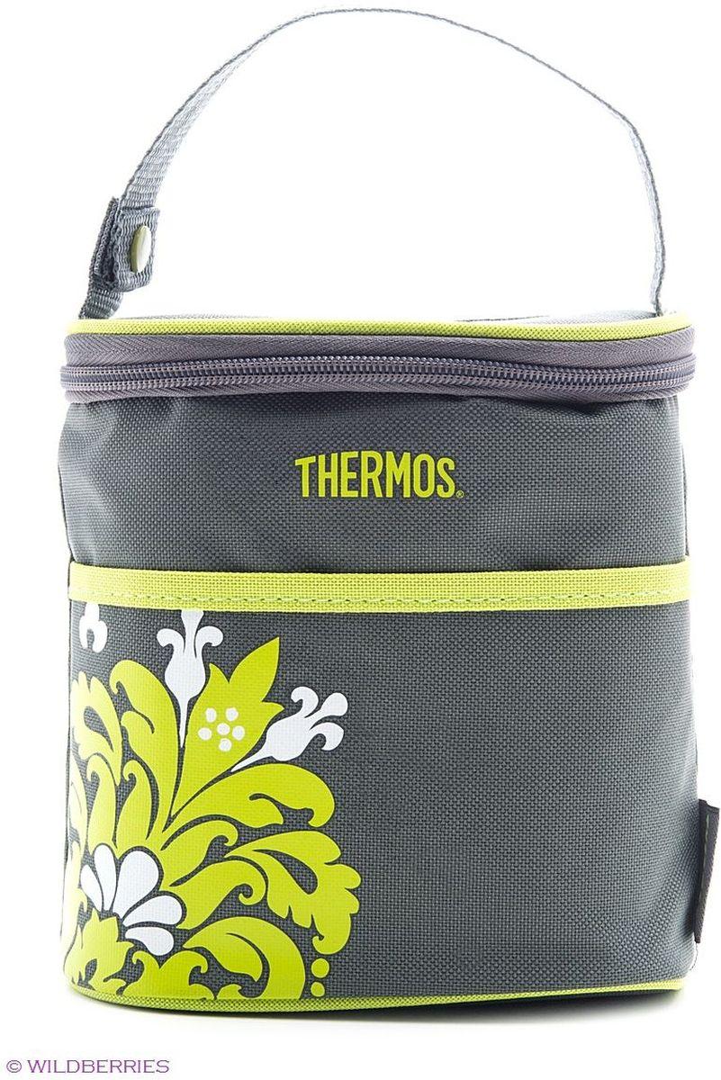 Термосумка Thermos Bottle Holder, на 2 бутылки, цвет: серый, 0,6 л548160Сумка-термос на две детских бутылочки. Идеально подходит для поддержания требуемой температуры напитка для малыша.