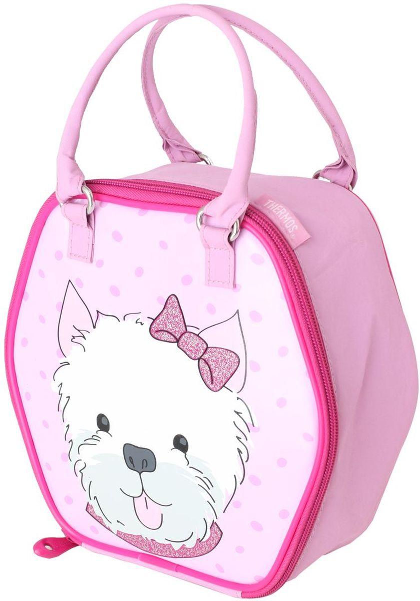 Термосумка детская Thermos Puppy Days Novelty, цвет: розовый, 5 л475893Сумка для перевозки и хранения обеда Вашего ребенка.