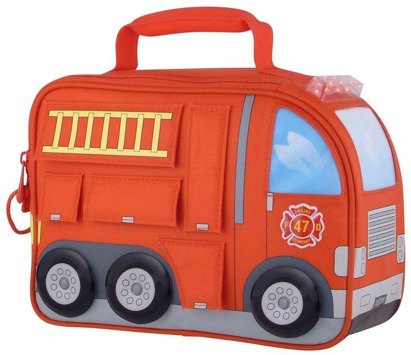 Термосумка детская Thermos Firetruck Novelty Kit, цвет: красный, 5 л889218Сумка для перевозки и хранения обеда Вашего ребенка.