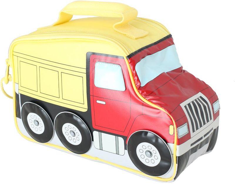Термосумка детская Thermos Truck Novelty, цвет: красный,желтый, 5 л19201Детская термосумка Truck Novelty в виде грузовика выполнена из прочного износоустойчивого тканого ПВХ-материала. Она отлично подойдет для перевозки и хранения обеда вашего ребенка.Термостатирующие качества обеспечивает термоизолирующая прокладка из пенополиуретана. Для удобства переноскиимеется ручка.Объем: 5 л.