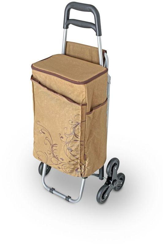 Термосумка Thermos Wheeled Shopping Trolley, цвет: коричневый, 28 л469922Сумка-термос на колесах сохраняет прохладными продукты питания при передвижении. Съемная многофункциональная сумка-термос. Слой PEVA - гигиеничен, герметичен, и легко чистится. Одно большое отделение. Застежка молния позволяет легко открывать сумку. Имеется два боковых кармана. Фронтальный карман на застежке молнии. Сумка транспортируется в стул. Прочный стальной каркас стула обеспечивает безопасность и комфорт. Трехколесный механизм удобен на неровной поверхности. Isotec™ изолирующий слой сумки позволяет сохранять напитки и еду теплыми/холодными во время передвижения.