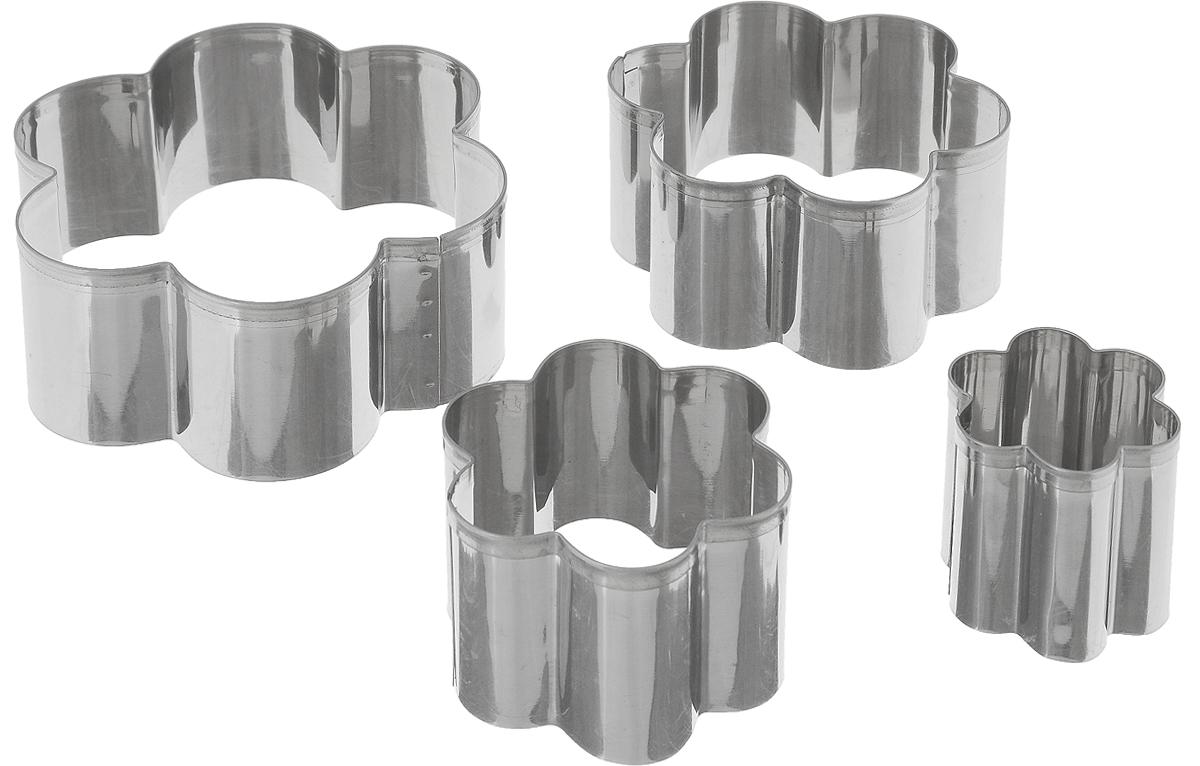 Набор форм для выпечки Mayer & Boch, 4 шт94672Набор форм для выпечки Mayer & Boch состоит из 4 форм в виде цветка. Формочки выполнены из нержавеющей стали. Они помогут вам творить на кухне, создавая оригинальную выпечку. Вы также можете использовать их как трафареты для рисования, лепки из пластилина и полимерной глины. Формочки не требуют сложного ухода, без проблем отмываются в теплой мыльной воде, их можно мыть в посудомоечной машине. Диаметр форм: 4 см, 6 см, 8 см, 10 см. Высота форм: 4 см.
