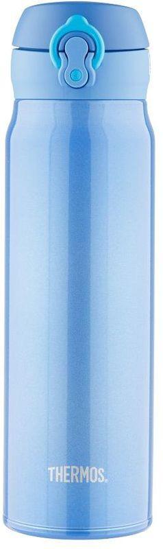Термос Thermos, цвет: голубой, 0,6 л. JNL-602934796Это серия суперлегких и супертонких (наименьший диаметр) термосов, созданная по последним разработкам специалистов компании Thermos. Объем 600 ml.