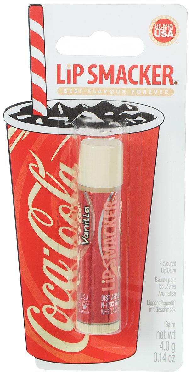 Lip Smacker Бальзам для губ Coca Cola, ванильный5751Lip Smacker – это оригинальные блески и бальзамы для губ с самыми разнообразными ароматами. Прекрасно смягчают и увлажняют губы, придавая им сияние.