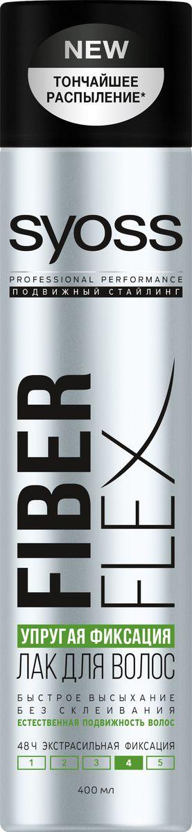 Syoss FiberFlex Упругая Фиксация лак для волос экстрасильной фиксации 400 мл090348989Быстрое высыхание - без склеивания - естественная подвижность волос - 48 часов экстрасильная фиксация