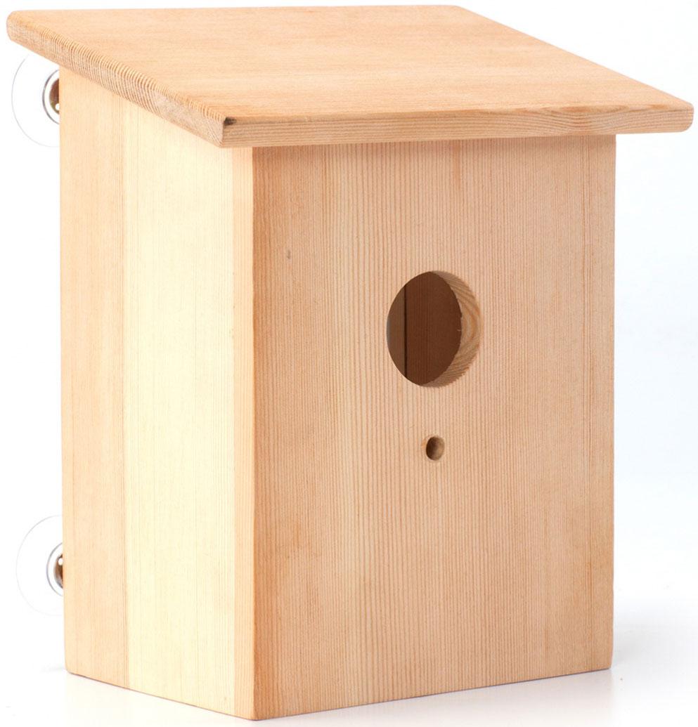 Скворечник Bradex Шпион, 16 х 12 х 19,5 смTD 0312Изучайте живую природу вместе со скворечником для птиц. Прозрачная задняя стенка маленького домика позволит вам наблюдать за пернатыми. Скворечник – отличный способ познакомить ребенка с природой и научить его бережно относится к животным, ухаживая за ними, но не оставляя птицу в доме. Скворечник станет замечательным украшением дачи, а щебетание птиц добавит уюта и заставит вспомнить преимущества жизни за городом.