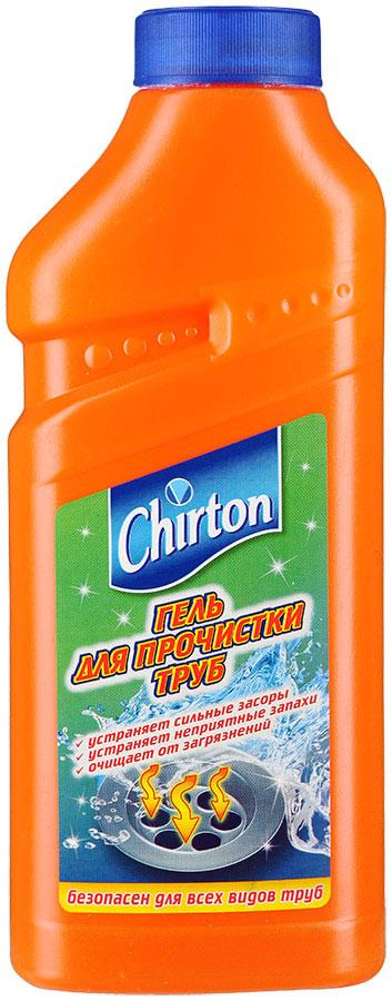 Гель для прочистки сливных труб Chirton, 500 мл687162Гель для прочистки труб Chirton очищает канализационную систему от засоров и загрязнений. Эффективно растворяет бумагу, волосы, пищевые отходы и другие загрязнения органического происхождения. Особенности геля Chirton: - Устраняет сильные засоры лучше, чем традиционные методы и средства. - Прочищает, устраняет неприятные запахи. - Проникает глубоко в трубу даже при наличии воды в раковине. - Идеально подходит для всех видов металлических и пластиковых труб. Товар сертифицирован. Уважаемые клиенты! Обращаем ваше внимание на возможные изменения в дизайне упаковки. Качественные характеристики товара остаются неизменными. Поставка осуществляется в зависимости от наличия на складе.