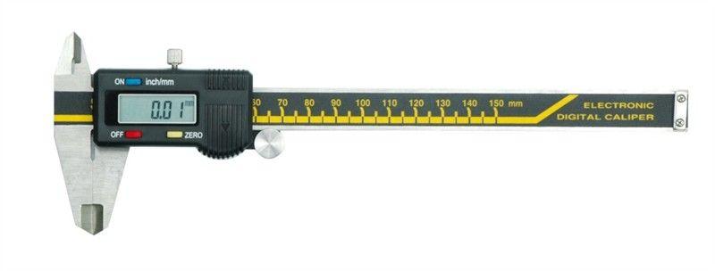Штангенциркуль электронный Vorel, 0.05 мм/150 мм2706 (ПО)Штангенциркуль электронный VOREL, длина 150 мм, точность 0,05 мм.