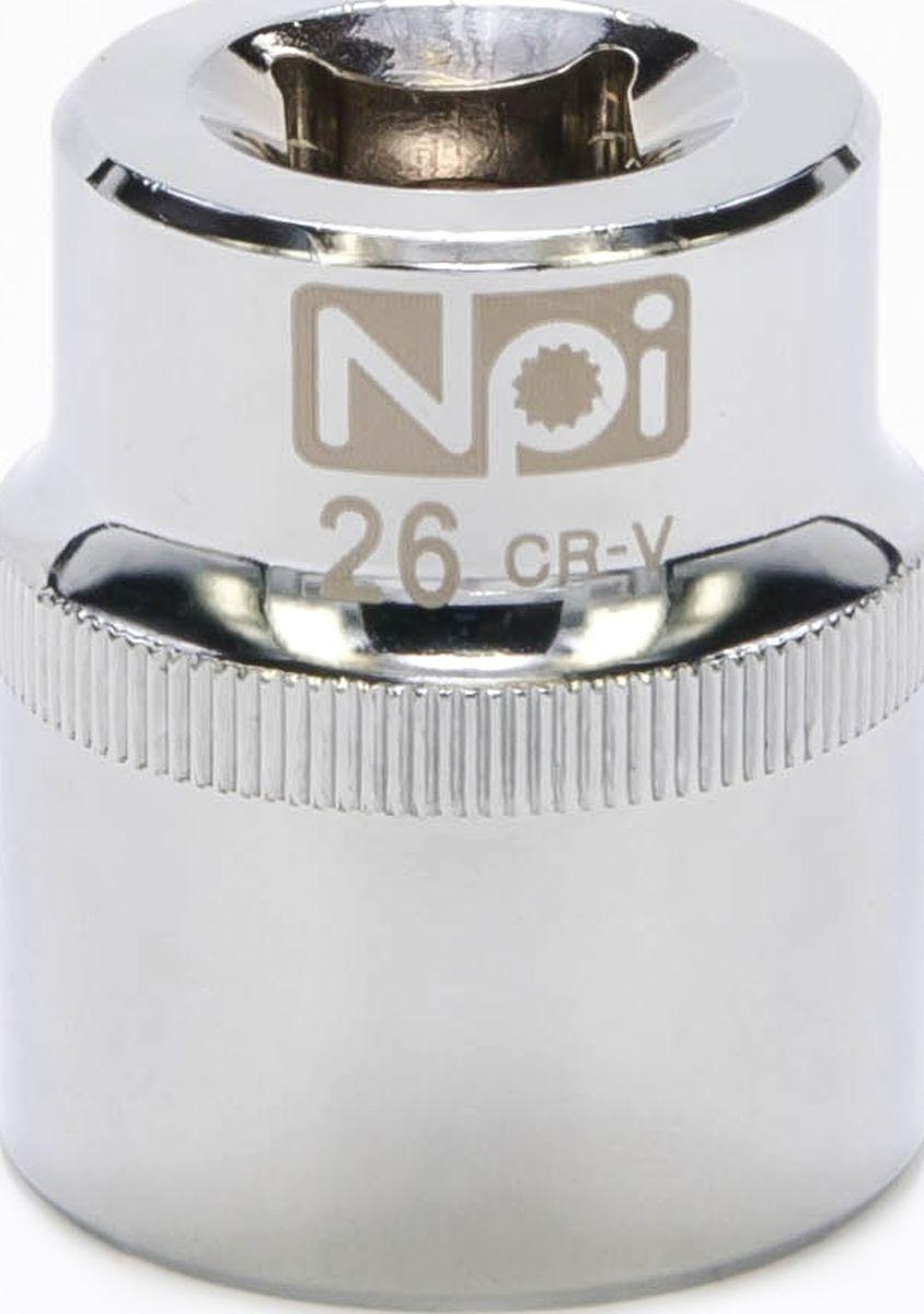 Головка торцевая NPI SuperLock, 1/2, 26 мм20026Головка торцевая NPI 1/2. Тип 1/2. Торцевая головка NPI применяется с гайковертами, трещетками, воротками. Торцевая головка выполнена по технологии Суперлок. Торцевая головка обеспечивает максимальный крутящий момент по отношению к резьбе и выдерживает ударные нагрузки. Материал - высокопрочная хром-ванадиевая сталь. Соответствует стандарту DIN 3124