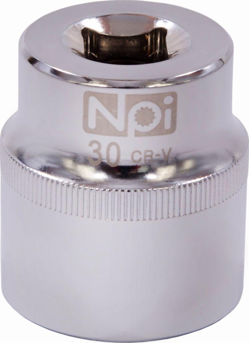 Головка торцевая NPI SuperLock, 1/2, 30 мм20030Головка торцевая NPI 1/2. Тип 1/2. Торцевая головка NPI применяется с гайковертами, трещетками, воротками. Торцевая головка выполнена по технологии Суперлок. Торцевая головка обеспечивает максимальный крутящий момент по отношению к резьбе и выдерживает ударные нагрузки. Материал - высокопрочная хром-ванадиевая сталь. Соответствует стандарту DIN 3124