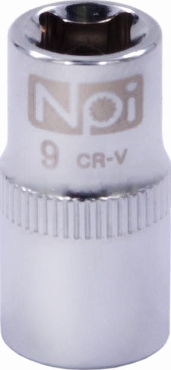 Головка торцевая NPI SuperLock, 1/4, 9 мм20227Головка торцевая NPI 1/4. Тип 1/4. Торцевая головка NPI применяется с гайковертами, трещетками, воротками. Торцевая головка выполнена по технологии Суперлок. Торцевая головка обеспечивает максимальный крутящий момент по отношению к резьбе и выдерживает ударные нагрузки. Материал - высокопрочная хром-ванадиевая сталь. Соответствует стандарту DIN 3124.