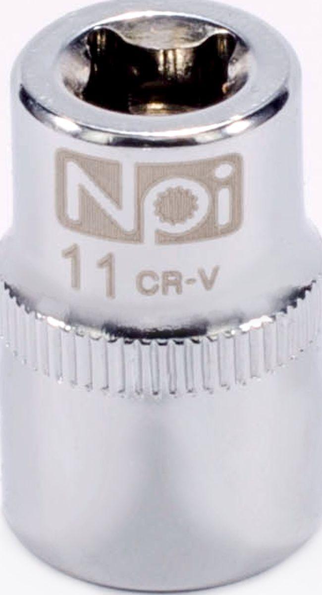 Головка торцевая NPI SuperLock, 1/4, 11 мм20229Головка торцевая NPI 1/4. Тип 1/4. Торцевая головка NPI применяется с гайковертами, трещетками, воротками. Торцевая головка выполнена по технологии Суперлок. Торцевая головка обеспечивает максимальный крутящий момент по отношению к резьбе и выдерживает ударные нагрузки. Материал - высокопрочная хром-ванадиевая сталь. Соответствует стандарту DIN 3124.