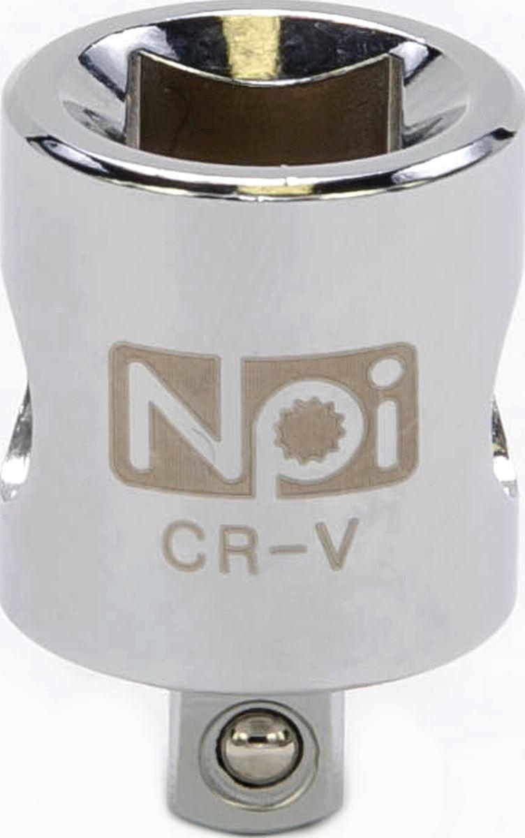 Переходник NPI, 1/4-3/820562Переходник NPI 1/4-3/8. Переходник 3/8 M x 1/4 F. Длина - 26 мм. Соответствует стандарту DIN 3123. Изготовлен из высокопрочной хром-ванадиевой стали.