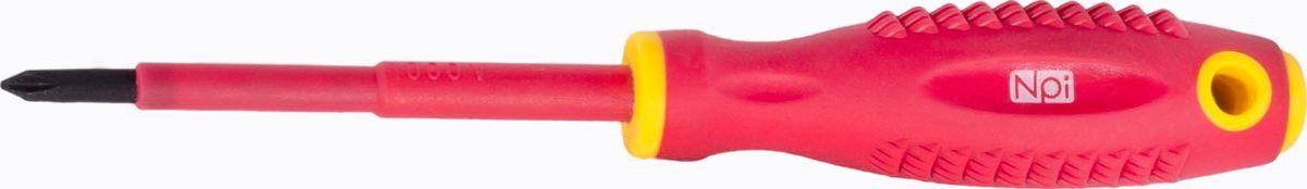 Отвертка крестовая электрозащищенная NPI
