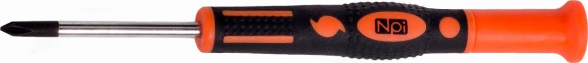 Отвертка крестовая NPI CrMo, для точных работ, PH 1.0 x 50 мм30087Отвертка крестовая д/точных работ NPI PH 1.0x50мм CrMo. Отвертка крестовая. Для точных работ. Тип PH1. Длина жала 50 мм. Изготовлена из высокопрочной хром-молибден-ванадиевой стали. Магнитный наконечник. Эргономичная рукоятка.