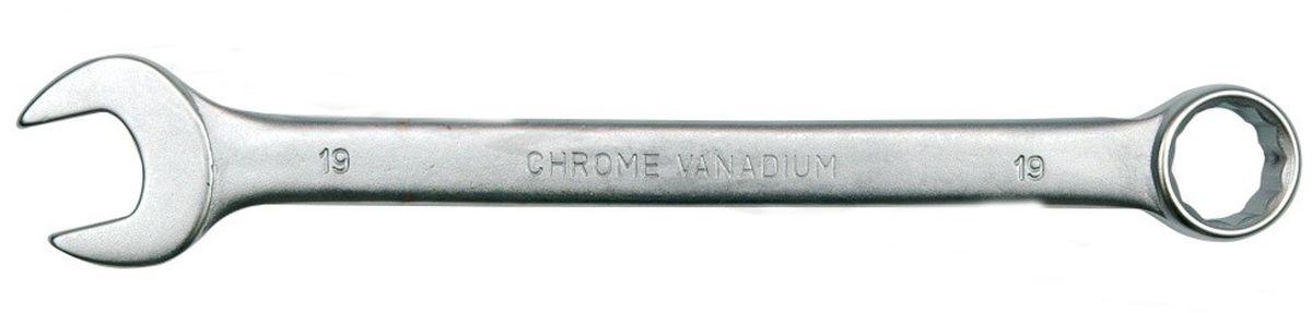 Ключ комбинированный Vorel Сатин CrV, 6 мм51671Ключ комбинированный VOREL САТИН, размер 6 мм, выполнен из инструментальной стали CrV.
