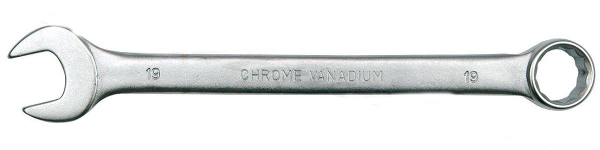 Ключ комбинированный Vorel Сатин CrV, 7 мм51672Ключ комбинированный VOREL САТИН, размер 7 мм, выполнен из инструментальной стали CrV.