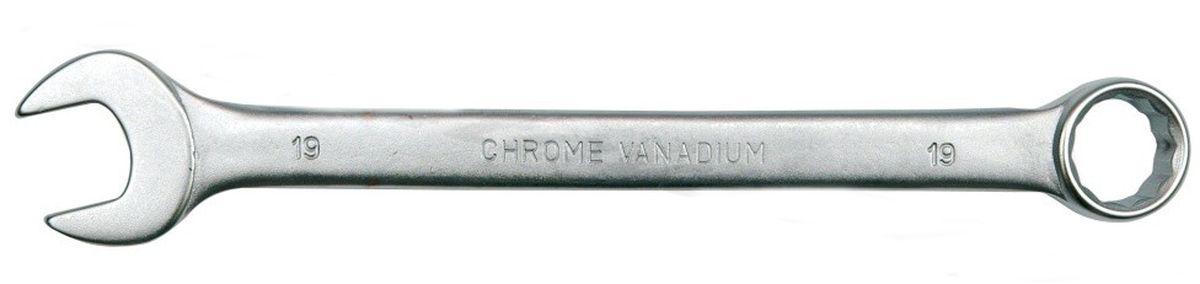 Ключ комбинированный Vorel Сатин CrV, 13 мм51678Ключ комбинированный VOREL САТИН, размер 13 мм, выполнен из инструментальной стали CrV.