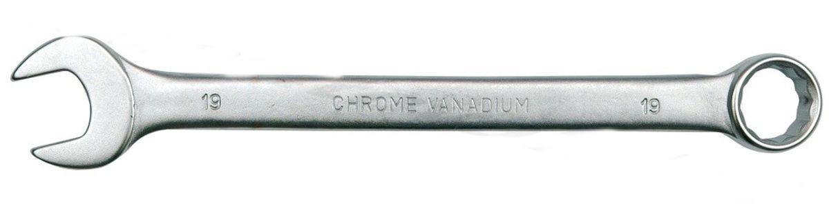 Ключ комбинированный Vorel Сатин CrV, 16 мм51681Ключ комбинированный VOREL САТИН, размер 16 мм, выполнен из инструментальной стали CrV.