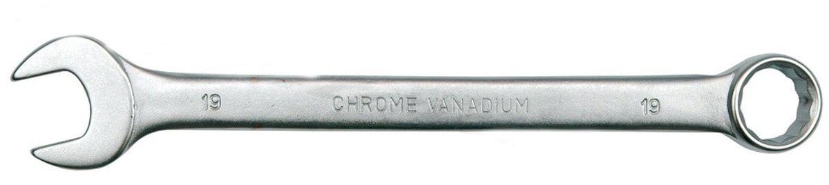 Ключ комбинированный Vorel Сатин CrV, 24 мм51689Ключ комбинированный VOREL САТИН, размер 24 мм, выполнен из инструментальной стали CrV.
