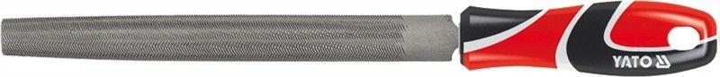 Напильник по металлу Yato, плоский, 200 ммCA-3505Напильник по металлу YATO плоский, длина 200 мм, двухкомпонентная ручка.