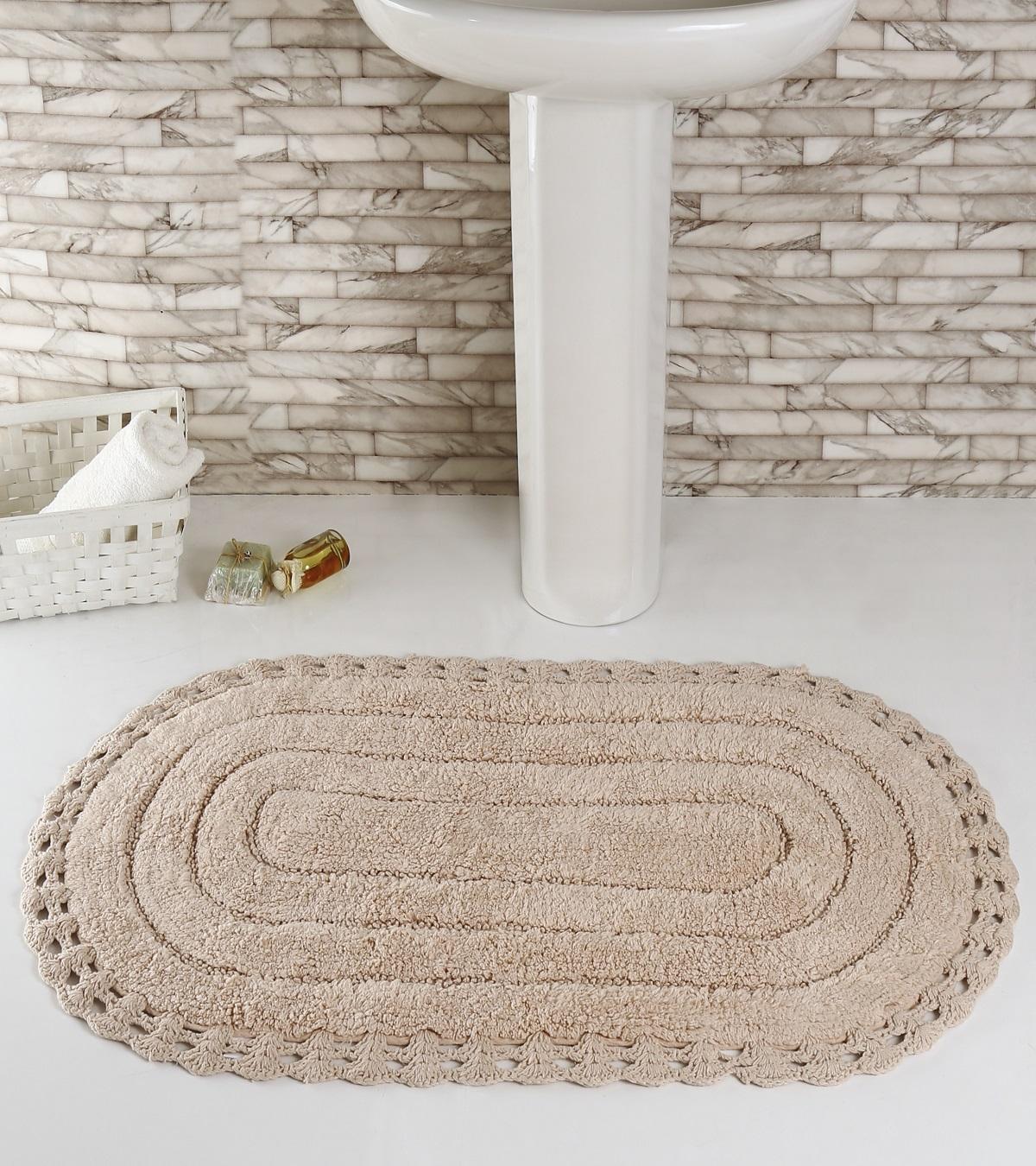 Коврик для ванной Karna Modalin. Yana, цвет: пудровый, 60 х 100 см5025/CHAR005