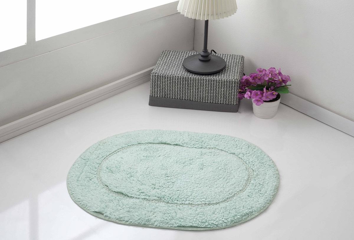 Коврик для ванной Karna Modalin. Galya, цвет: ментоловый, 45 х 65 см5030/CHAR005