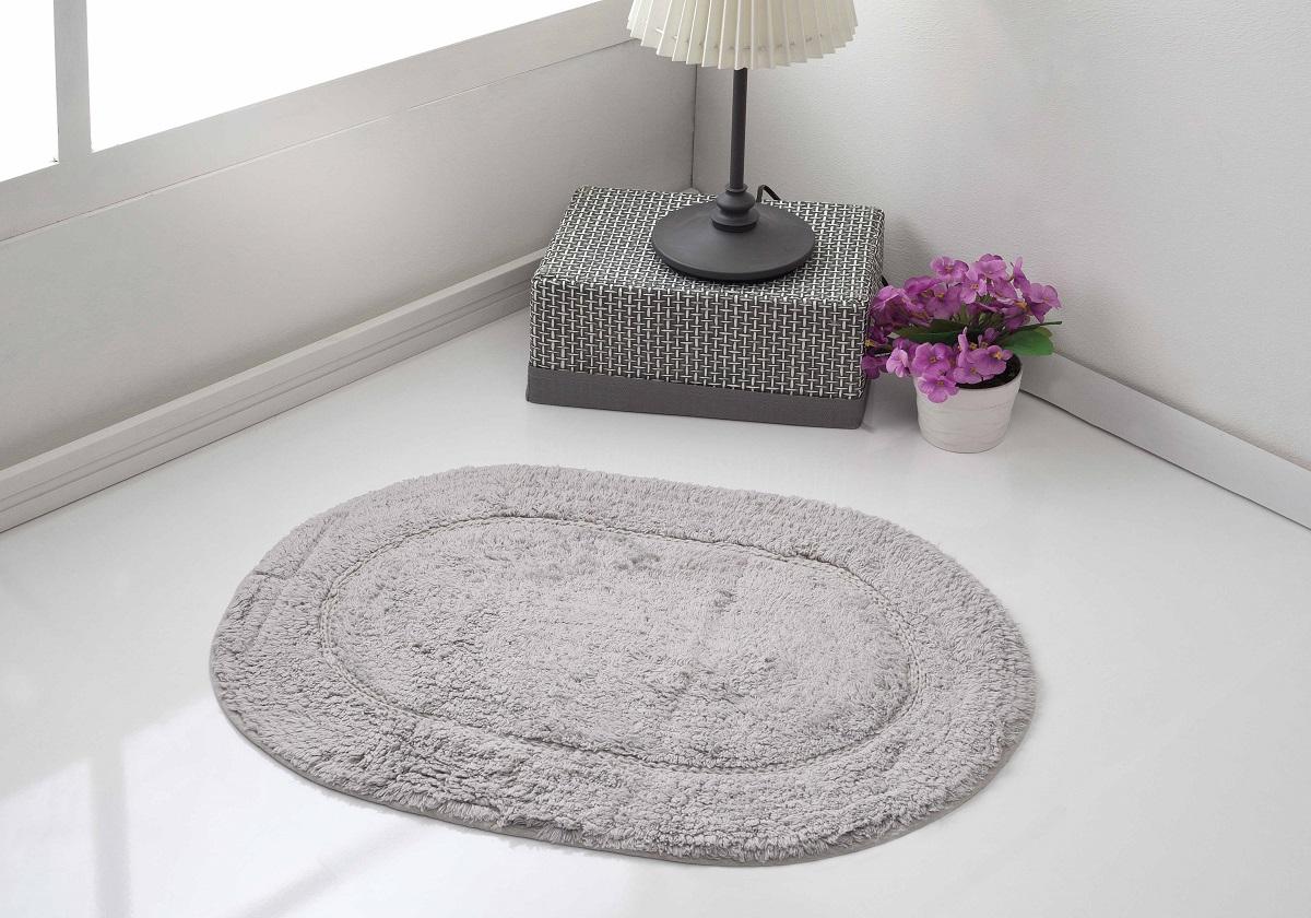 Коврик для ванной Karna Modalin. Galya, цвет: серый, 45 х 65 см5030/CHAR007