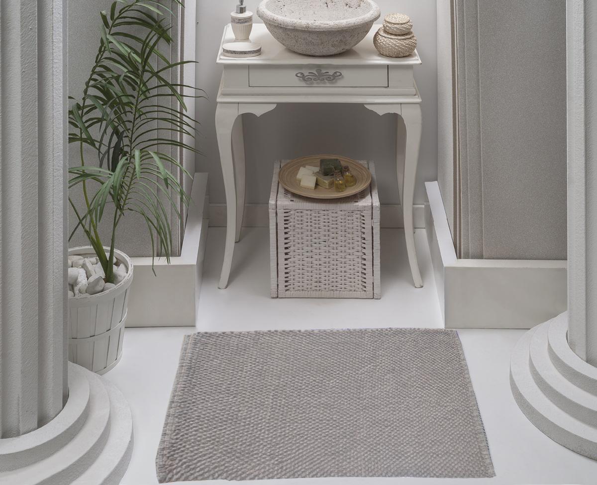 Коврик для ванной Karna Modalin. Alven, цвет: кофейный, 50 х 70 см5034/CHAR004